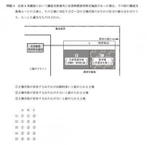 土壌汚染調査技術管理者試験