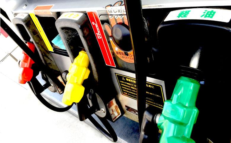 ガソリンスタンド画像